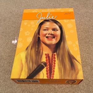American Girl Julie 6 book box set collection